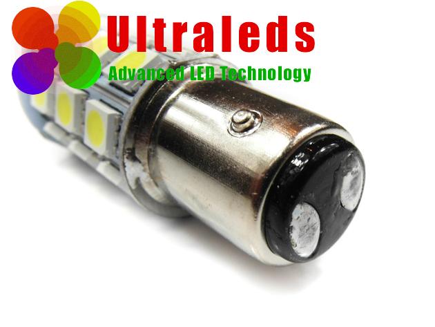 Żarówka LED 27 SMD 5050 Epistar złącze Bay15d P21W/5W 1157 biała